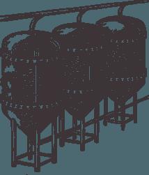 Fermentation und Kühlung